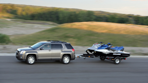 2010 GMC Terrain SLE with towing capacity