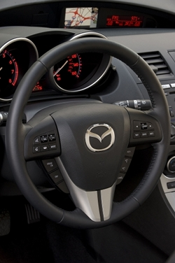 Mazda3 is ready for a driver