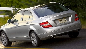 rear view of 2010 Mercedes-Benz C-Series
