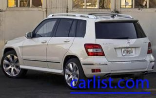 2010 Mercedes-Benz GLK 350 rear shot