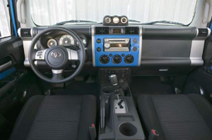 inside the FJ