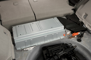 the battery for the Prius