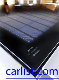 a solar roof to cool the car