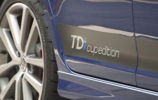 Sleek TDI branding