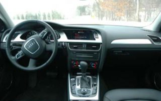 The interior - awash in buttery-soft leather - is where the A4 really shows its luxurious side