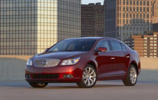 Buick's mid-size luxury sedan is drawn with taut lines and keen edgework