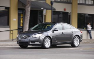 The 2011 Regal sports clean lines and a sleek look