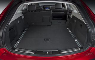 Folding rear seats provide lots of room for both passengers and cargo