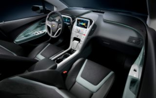Leather seats and interior trim