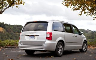 Fresh exterior styling for the 2011 Town & Country appears contemporary with crisp tailored lines