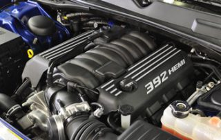 Dodge has recaptured a sense of whiplash, off-the-line power in the new 392 (6.4 liter) HEMI V8