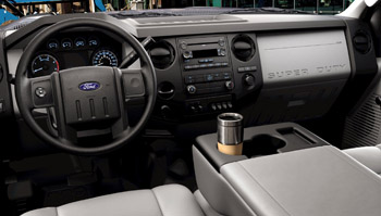 There are numerous cupholders, handy door pockets, a capacious glovebox and ceiling console storage