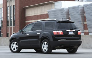 Acadia earns EPA fuel economy scores up to 24 mpg for highway in the FWD edition, or 23 mpg with the AWD equipment
