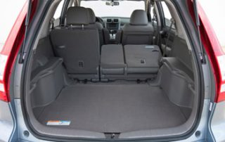 You have the option of folding down only the seatbacks or folding and tumbling them forward for a roomy flat floor