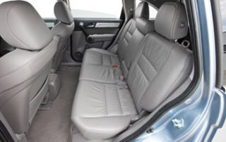 The rear seats fold in a 60/40 ratio so you can fold down one side and still retain comfortable passenger seating