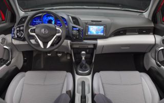 The interior looks and feels surprisingly upscale