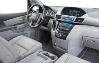 Honda has updated the interior with entertainment features that rival a well-stocked family room