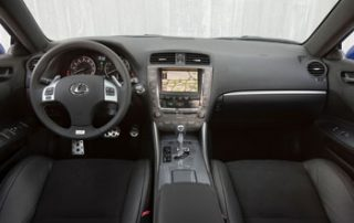 With no navigation system hogging the center console, the audio controls are easy to use and not cramped