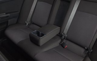 The GTS's interior extras include leather steering wheel, shift knob and brake handle; automatic climate control; sport bucket seats and the FUSE Hand