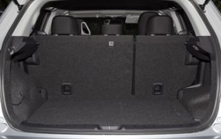 Rear folding seats offer plenty of storage space for cargo