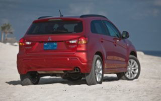 """Smaller """"crossover"""" SUVs tend to have more carlike styling, and the Outlander Sport follows that trend"""