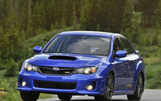 The 2011 Impreza WRX has a wider front and rear track by approximately 1.5 inches