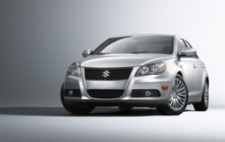 The cars wear a bolder, muscular front with chrome accents and a lower grille that floats mere inches from the ground