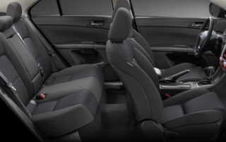 The interior is exceptionally well finished and equipped