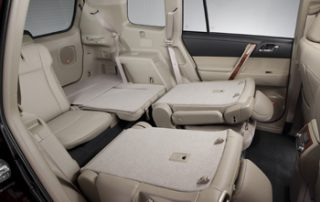 Folding second and third row seats allow you to balance passenger space with cargo space