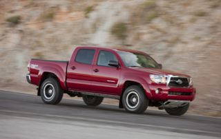 "The Tacoma is no ""mini-truck"" like the first small Japanese pickups"