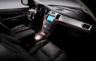 Luxurious leather interior