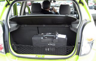 4-seater with a tiny trunk too