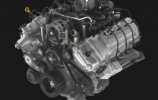 6.2L V8 best-in-class 434 lb. ft. of torque and 411 horsepower