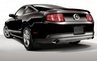 rearend of the Ford Mustang