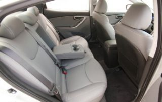Spacious back seats