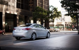 Although the Elantra has been adequate in style, this compact sedan now shines