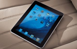 an i-Pad in every car