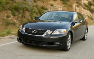 only Lexus sedan rigged with front-wheel-drive (FWD) traction