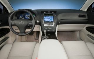 It's incredibly quiet inside, but Lexus consistently leads the way in fostering a serene and rattle-free environment
