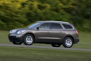 2012 Buick Enclave Side View