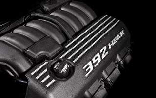 SRT8 392 cubic inch HEMI V-8 delivers 470 horsepower and 470 lb.-ft.of torque