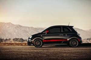 2012 Fiat 500 Abarth Left View
