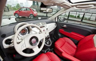 the interior is comfortable and intuitive
