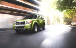 America's most fuel efficient SUV; 34 mpg city and 31 mpg highway.