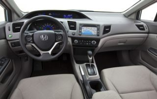 2012 Honda Civic CNG Interior