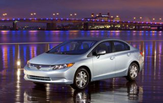 The Civic hybrid get 44 mpg