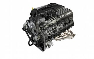 6.4-liter HEMI V-8 engine Cutaway for Grand Cherokee SRT8