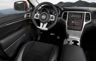 2012 Jeep Grand Cherokee SRT8, interior