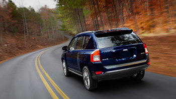 2012 Jeep Compass Latitude Rear View