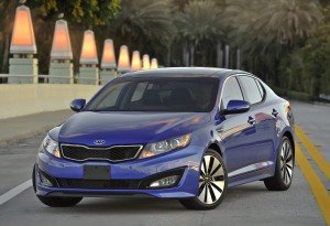 2012 Kia Optima Front Left Quarter